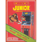 Donkey Kong Junior (Atari) - Atari 2600 (Cartridge Only, Label Wear)