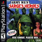 Army Men Sarge's Heroes - PS1 (With Book)