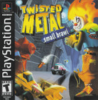 Twisted Metal Small Brawl - PS1 (With Box, No Book/Cover)