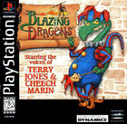 Blazing Dragons - PS1 (With Book)