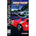 Ridge Racer - PS1 (With Book)