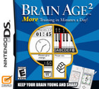 Brain Age 2: More Training in Minutes a Day! - DS (Cartridge Only)