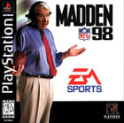 Madden NFL 98- PS1 - (Used, With Book)