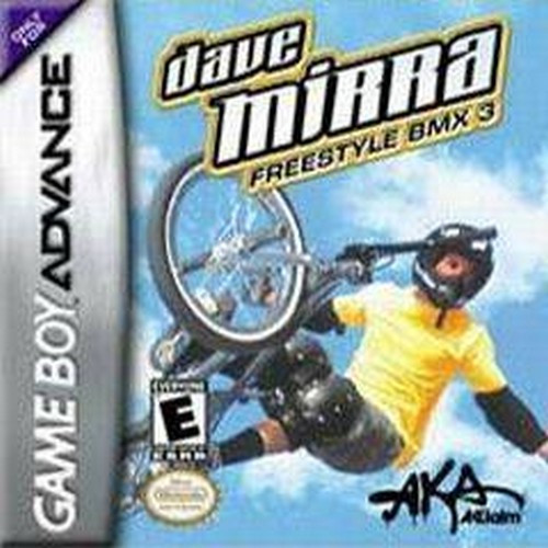 Dave Mirra Freestyle BMX 3 - GBA (Cartridge Only, Label Wear)