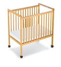 SafetyCraft® Compact-Size Fixed-Side Crib Clearview Headboard