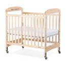New Generation Serenity, Compact Fixed Side with Adjustable Mattress Board, Clearview