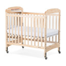 Next Generation Serenity Compact-Size Fixed-Side Crib, w/adjustable mattress board, Mirror end