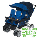 Foundations LX4 Quad 4-Passenger Stroller