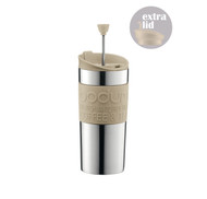 Bodum Travel press, stainless steel -  Latte