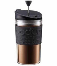 Bodum Doubled Walled Plastic Travel Press -  Black