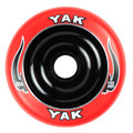 YAK 100mm Scat Metalcore Red on Black