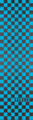 FLIK GRIPTAPE  -  CHECKERED NEON BLUE / BLACK
