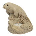 "5"" Sand Manatee Candle Holder CANMAN05"
