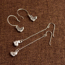 Chains of Love Droplet or Long Drop Earrings