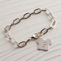 Customized Tee Shirt Bracelet