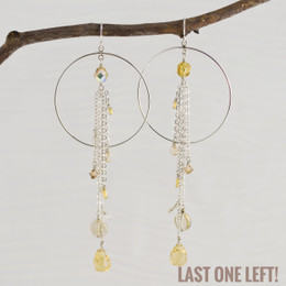 CLEARANCE! Party Girl Lemondrop Earrings--50% OFF