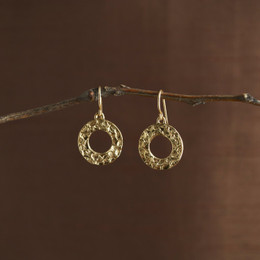 Gold Vermeil Looparella Droplet Earrings