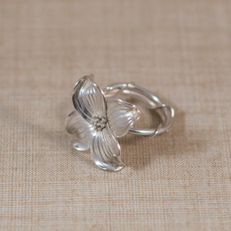 Made to Order Handcrafted Dogwood Ring