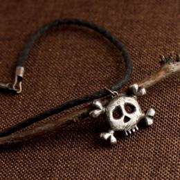 Danger Girl/Danger Boy Necklace with Black Cord