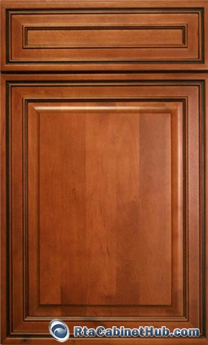 Mocha Maple Glaze Rta Cabinet Hub