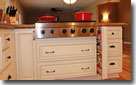 Vanilla Glaze Kitchen Cooktop