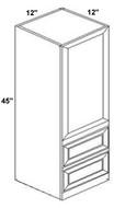 Mahogany Maple Counter Cabinet