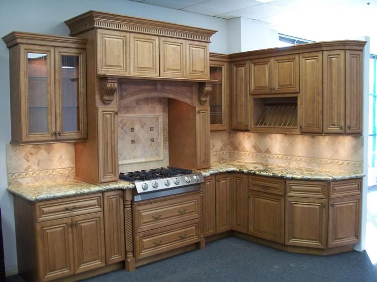 Cinnamon Maple Glaze Kitchen Cabinet Set Orts Rta Cabinet Hub