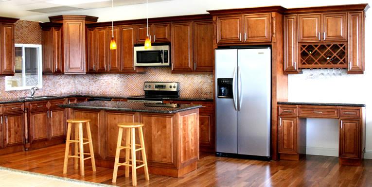 Mocha Maple Glaze Kitchen Cabinet Set Orts Rta Cabinet Hub