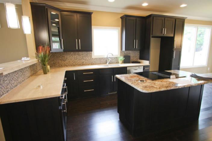 Espresso Shaker Kitchen Cabinet Set ORTS