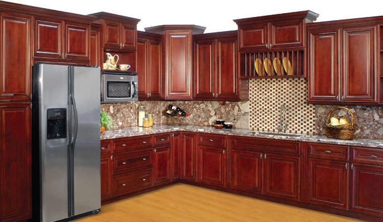 Lexington Cherry Kitchen Cabinet Set ORTS