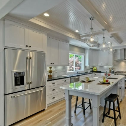 Classic White Shaker Kitchen Cabinet Set Rta Cabinet Hub