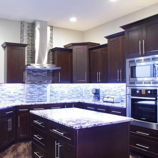 Full Kitchen Cabinet Set: Sienna Shaker Kitchen Cabinet Set