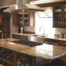 Chocolate Maple Glaze Assembled Kitchen Cabinet Set