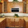 Spice Maple Assembled Kitchen Cabinet Set