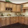 Savannah Maple Assembled Kitchen Cabinet Set