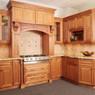 Cinnamon Maple Glaze Assembled Kitchen Cabinet Set