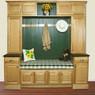 Classic Oak Assembled Kitchen Cabinet Set