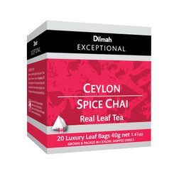 Ceylon Spice Chai - Luxury Tbags (20's)