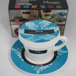 Exceptional Teacup Blue