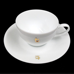 Classic White t-Series Cup and Saucer - 150ml