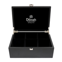 Dilmah Black (Empty) Presenter Box - 6 slot