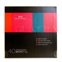 Exceptional Gift Pack of Tea