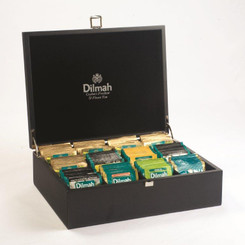 Dilmah Black (Empty) Presenter Box - 12 slot