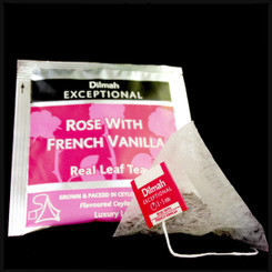 Rose with French Vanilla - Luxury Tbag Sachets (50's)