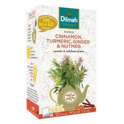 Cinnamon Turmeric Ginger & Nutmeg Infusion - Tag Tbag (20's)