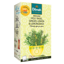 Holy Basil Ginger Lemongrass & Lemon Infusion - Tag Tbag (20's)