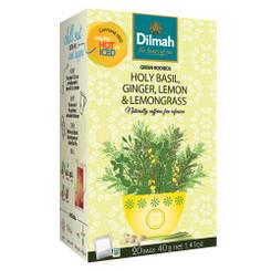 Holy Basil Ginger Lemongrass & Lemon Infusion - Tag Tbag (20's)