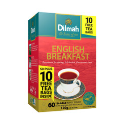 Dilmah English Breakfast 50s + 10 FREE Tea Bags