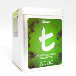 Moroccan Mint Green Tea - Loose Leaf (80g)