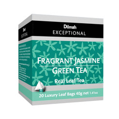 Fragrant Jasmine Green - Luxury Tbags (20's)